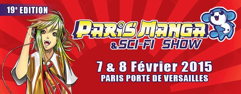Paris Manga le 7 – 8 février 2015