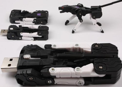 La clé USB Transformers !