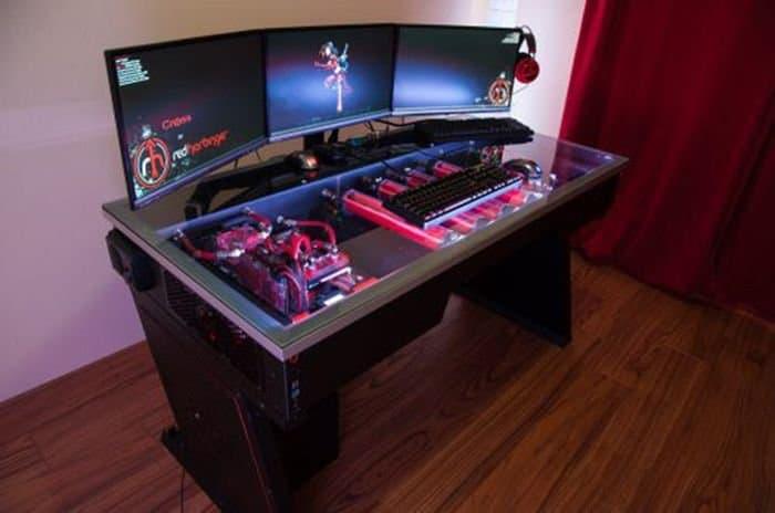 Les bureaux de gamer