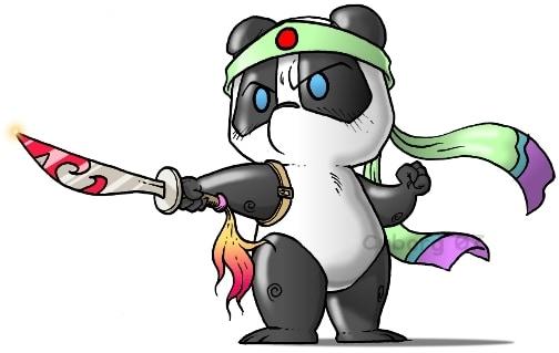 Une sélection de panda 可爱
