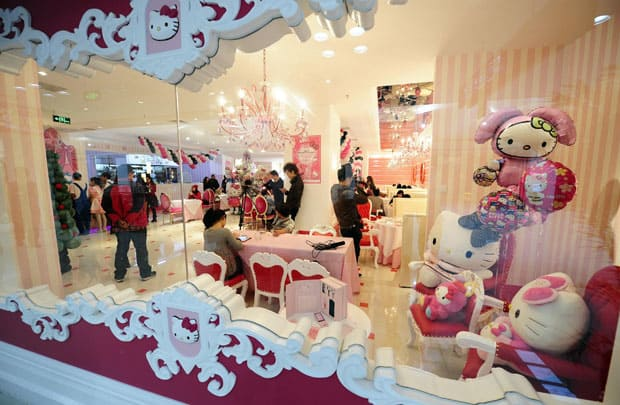 "[INSOLITE] Restaurant ""Hello Kitty Dream"" à Pékin"