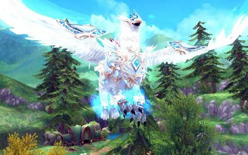 [AURA KINGDOM TW] Nouvelle monture ! Griffon de lumière céleste