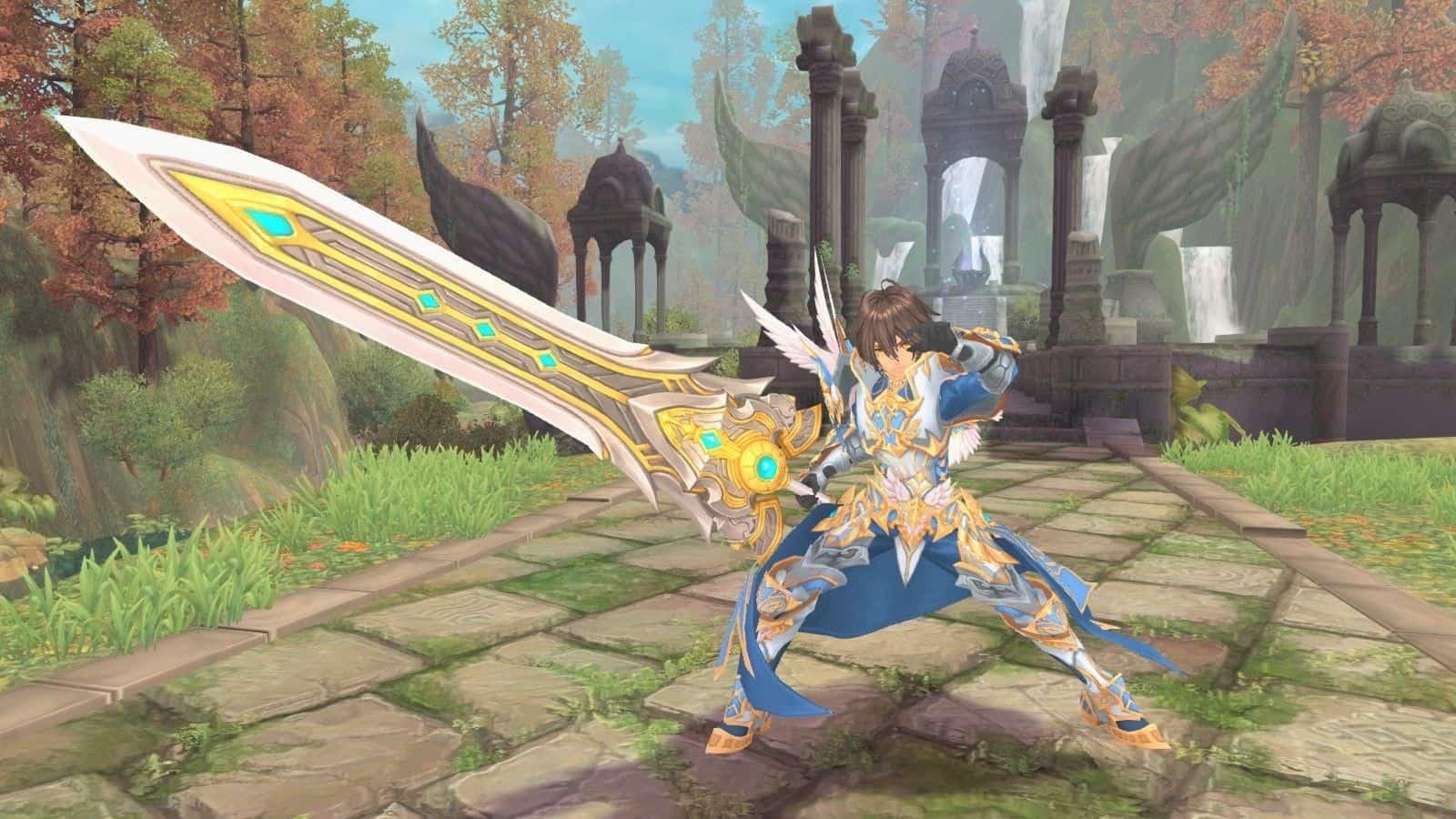 [AURA KINGDOM TW] L'épée à deux mains – vidéo de gameplay