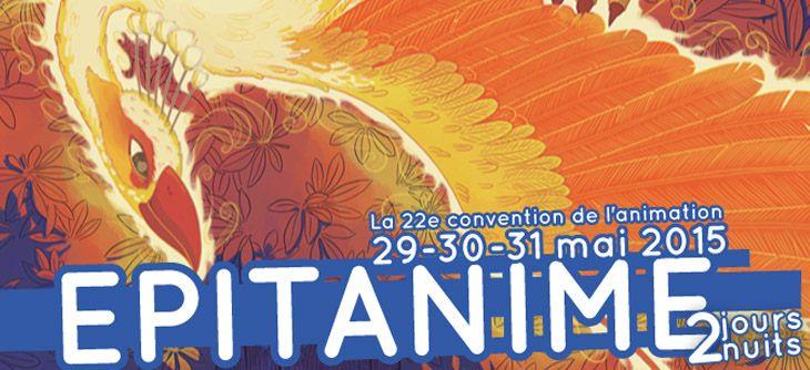 La convention EPITANIME le 29 au 31 mai 2015