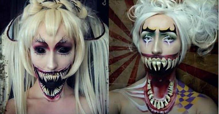 [Inclassable] Cette femme fait des prouesses en maquillage !