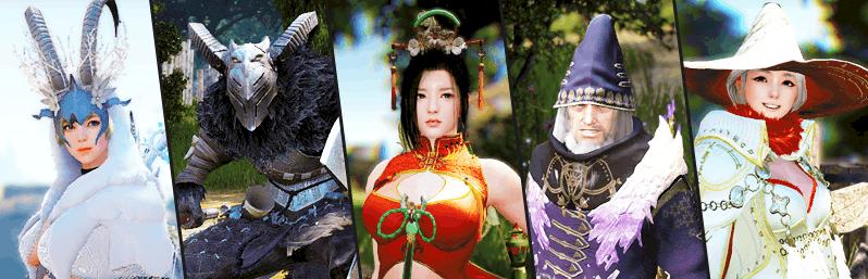[BLACK DESERT ONLINE KOREA] 27/02/2016 : De nouveaux costumes pour les personnages !