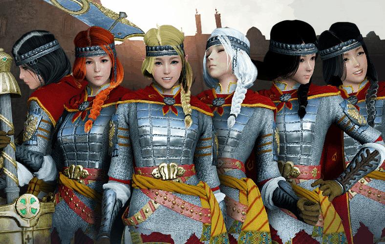 [BLACK DESERT ONLINE KOREA] 27/05/2016 : De nouveaux costumes de guerriers !