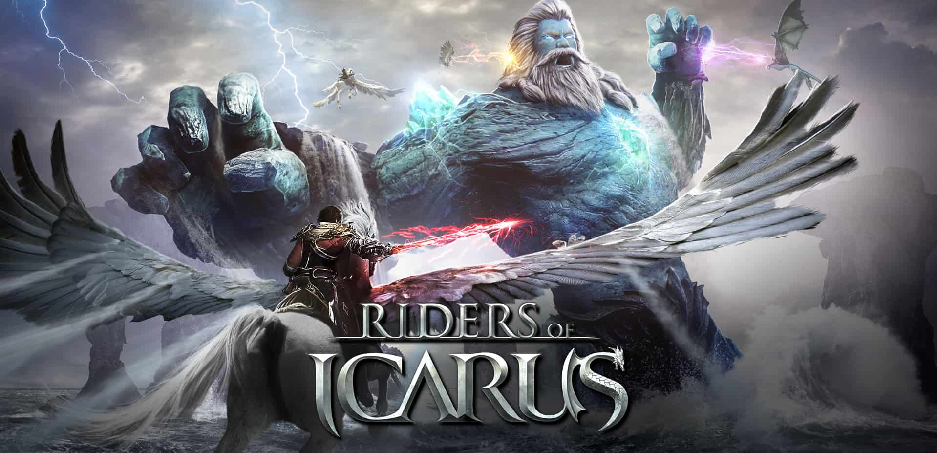 [RIDERS OF ICARUS KOREA] : Costumes armes !