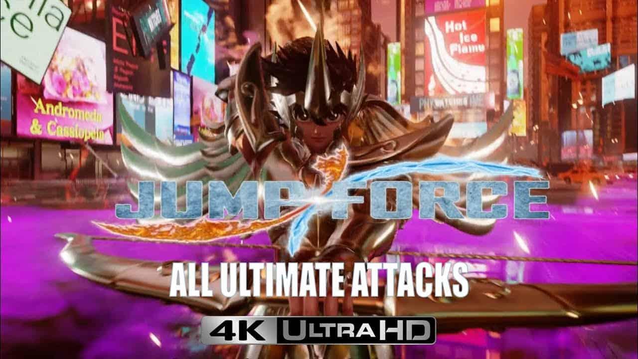Nouvelle vidéo : Jump Force – Toutes les attaques spéciales et ultimes