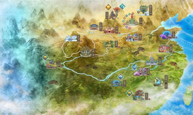 [SWORD OF LEGENDS ONLINE] L'univers du jeu (worldmap)