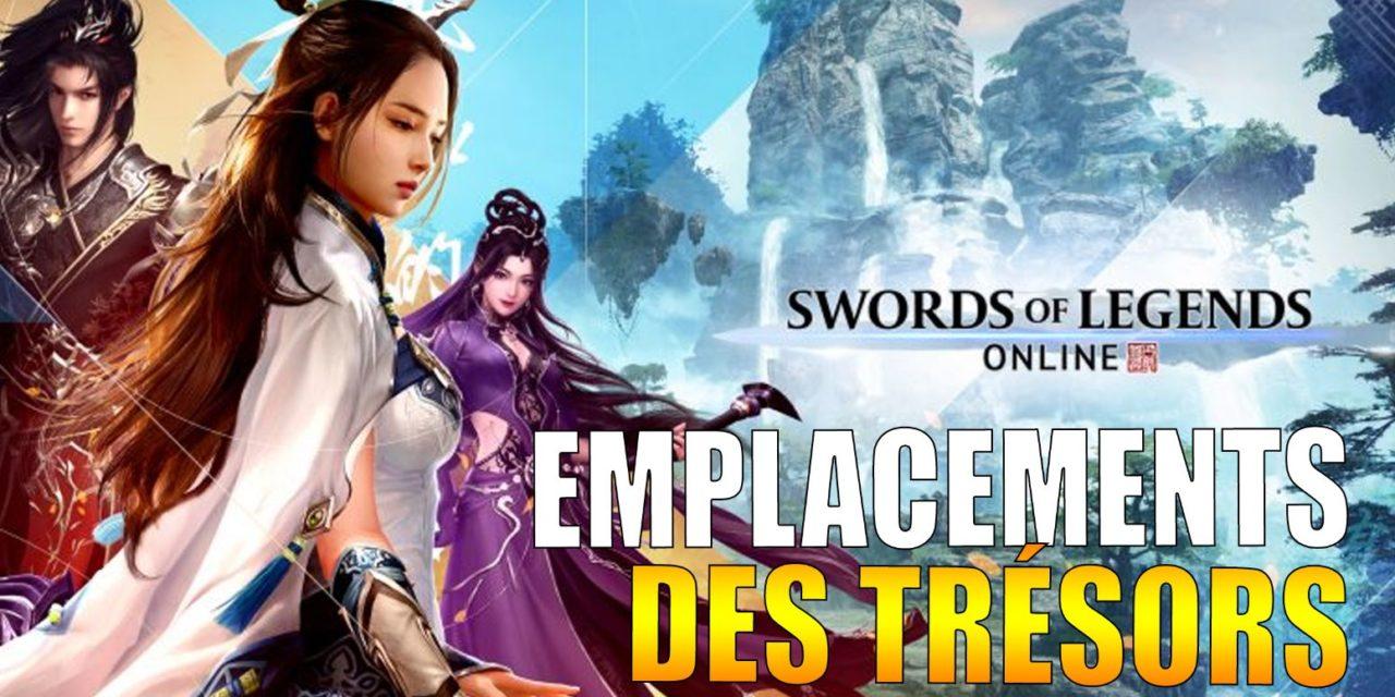 SWORD OF LEGENDS ONLINE – Tous les emplacements de trésors